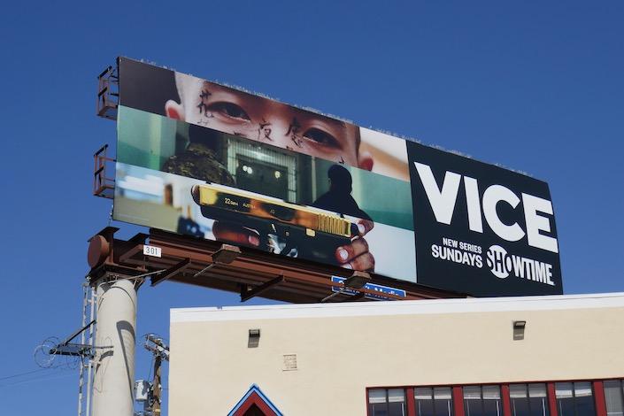 Vice Showtime season 7 billboard