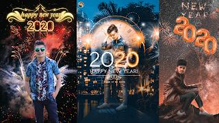 Happy New year 2020 Photo Editing background download | krediting- new year 2020 photo editing