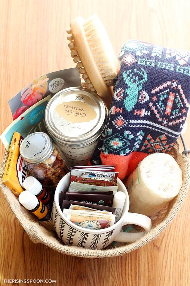 DIY Self Care Gift Basket For Friends & Family