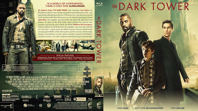 The Dark Tower Bluray Cover
