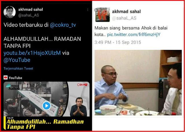 Panen Hujatan! Aktivis JIL Akhmad Sahal: ALHAMDULILLAH... RAMADAN TANPA FP1I