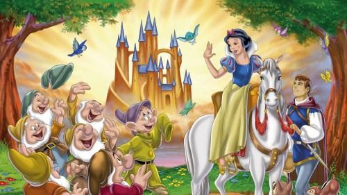 Putri Salju dan pangeran hidup bahagia selamanya