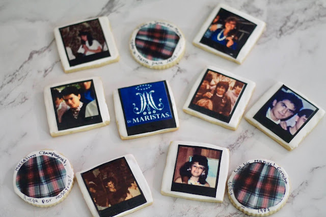 High School reunions party favors 2021 @ www.thecookiecouture.com