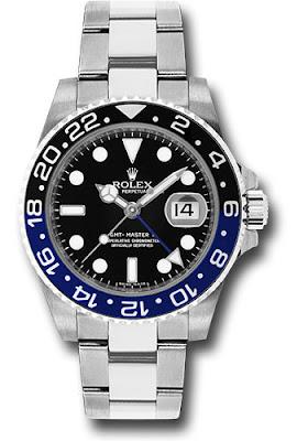 """Rolex GMT-Master II Watch-16710BLNR-Oyster-Perpetual-Date-""""Batman"""" RM48,000"""