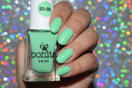 "Bonita Cosmetics ""Gel-On!"" Nail Polishes swatches/review"