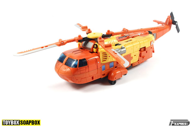 unique toys sworder helicopter sandstorm