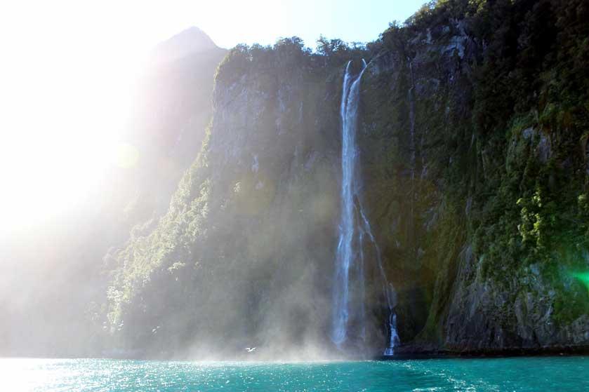 Stirling Falls, NZ.