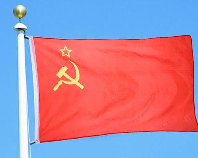 Logo palu arit dan bendera Uni Soviet