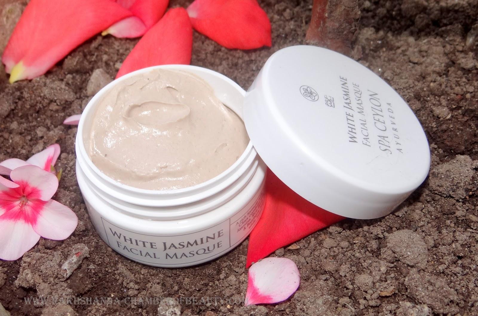 Spa Ceylon White Jasmine Face Masque Review & Price in India