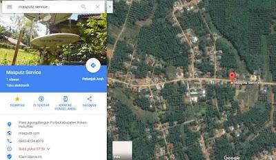 masputz service di google maps
