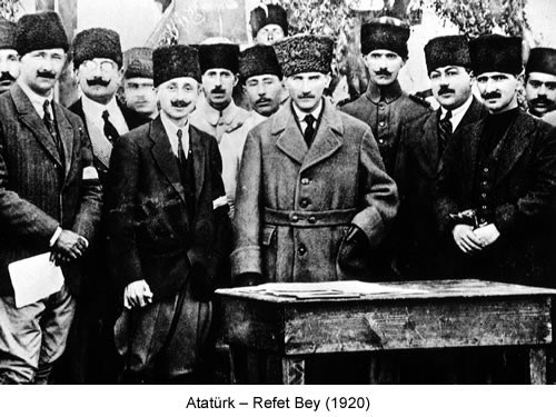 Atatürk Refet Bey 1920 Fotoğraf