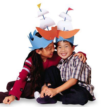Craft: Mayflower Hats