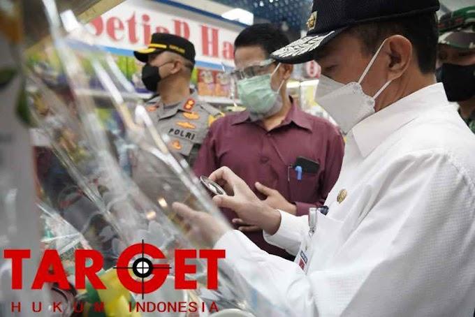 Sidak Jelang Lebaran, Bupati Haryanto Ungkapkan Strategi Pencegahan Covid-19 di Pusat Perbelanjaan