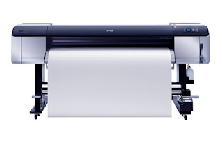 shading printer amongst orangish as well as greenish inks delivers move past times notch prints reasonable for both i Epson Stylus Pro GS6000 Drivers Download