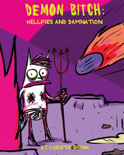 Demon Bitch: Hellfire and Damnation - Cover