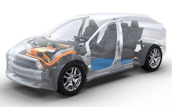 Toyota anuncia SUV 100% elétrico baseado e-TGNA