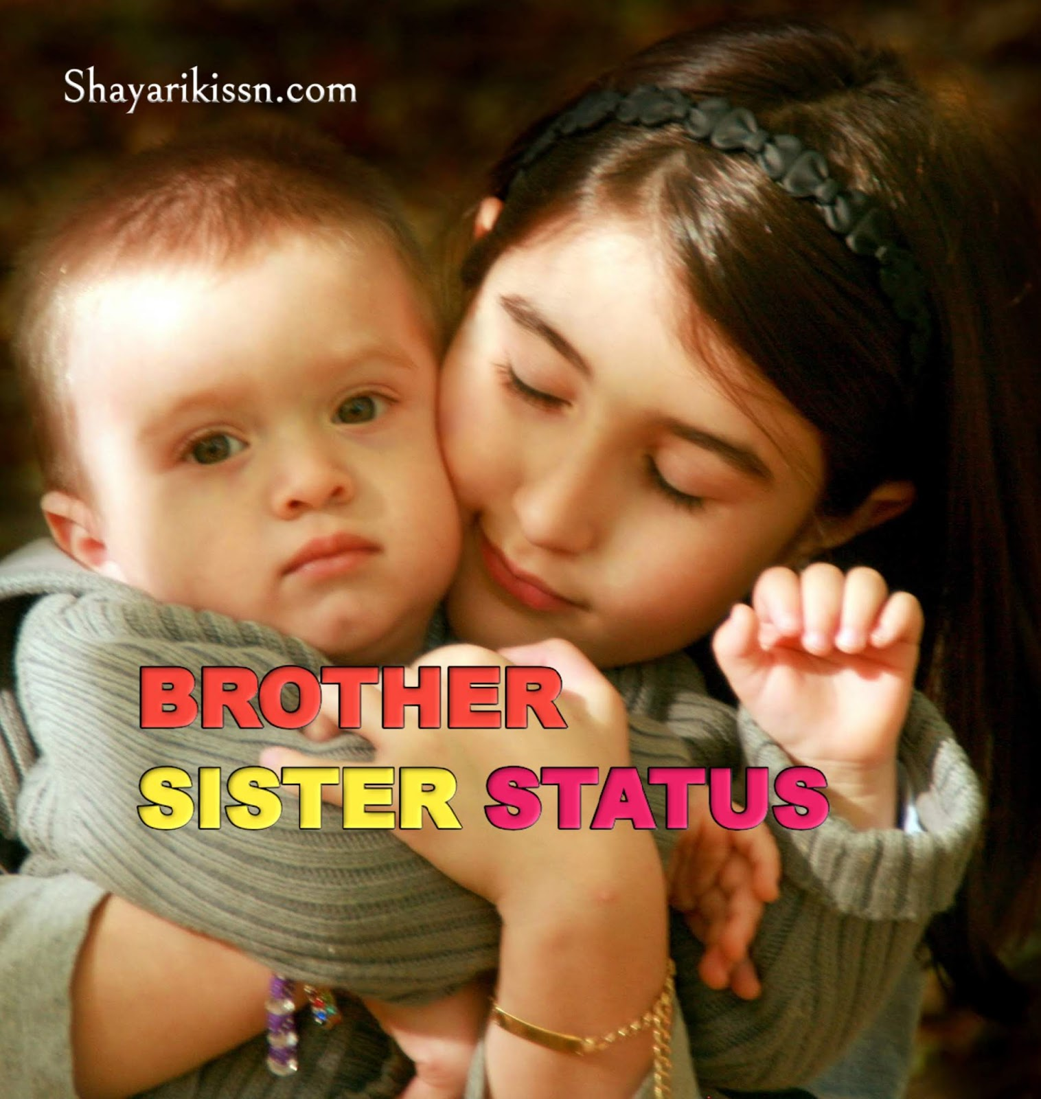 Brother Sister Cute Love Status And Shayari Collection 2020