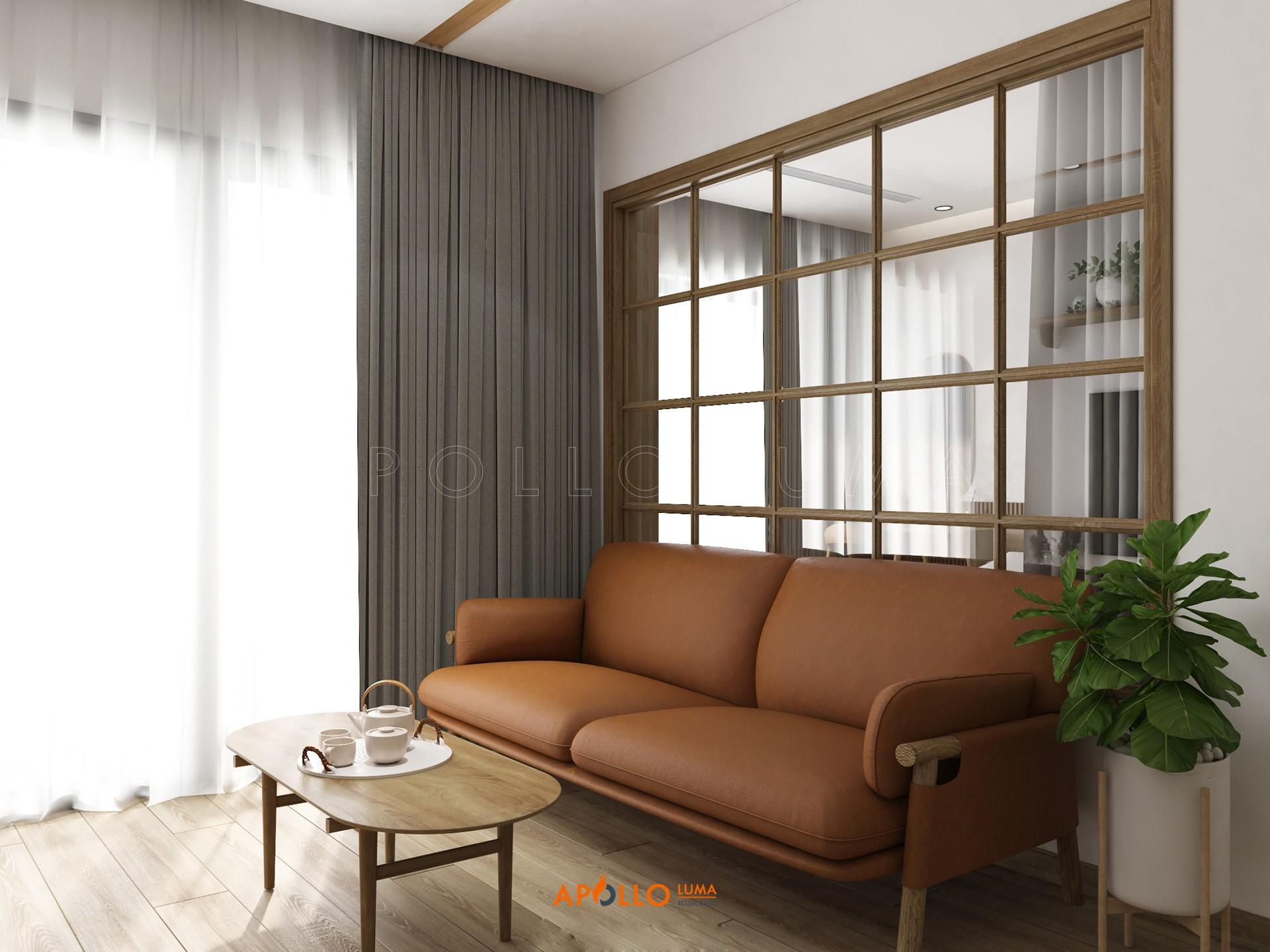 Thiết kế nội thất căn 55m2 Vinhomes Smart City Tây Mỗ