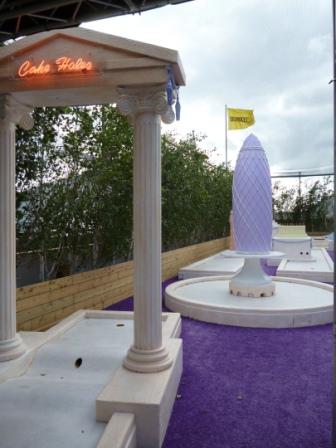 Bompas & Parr's Big Rooftop Tea & Golf Party Crazy Golf at Selfridges Oxford Street in London