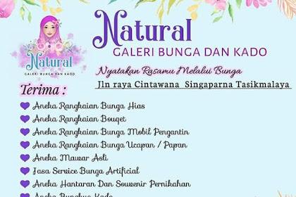Natural Galeri Bunga dan Kado Tasikmalaya