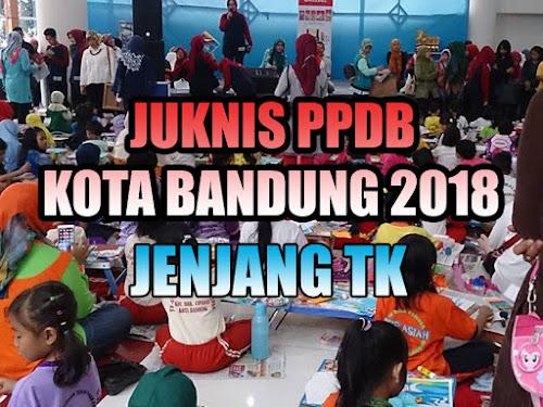 Juknis PPDB Kota Bandung 2018 Jenjang TK