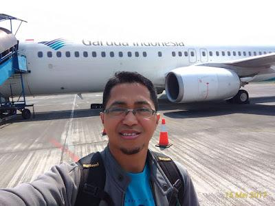 pengalaman pertama naik garuda indonesia