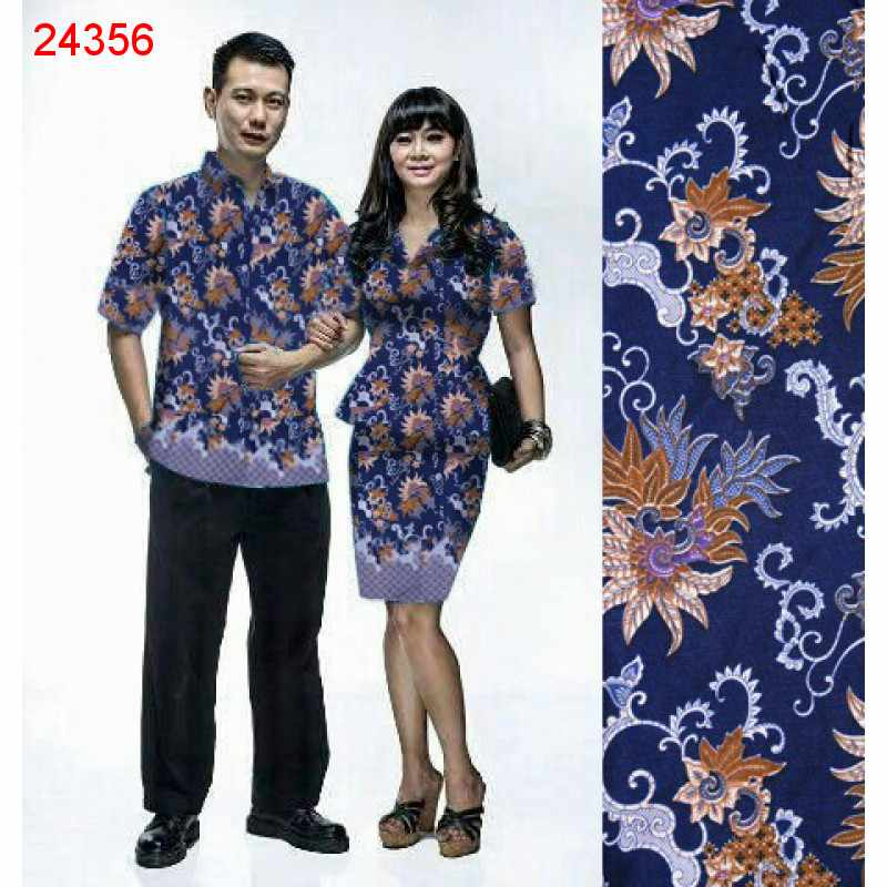 Jual Dress Couple Peplum - 24356