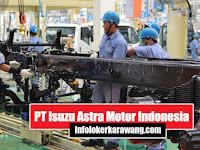Lowongan Kerja Operator PT. Isuzu Astra Motor Indonesia Karawang 2020