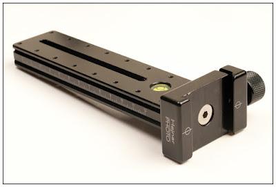 Hejnar PHOTO G16-60 MPR w/ F61ab QR clamp attached