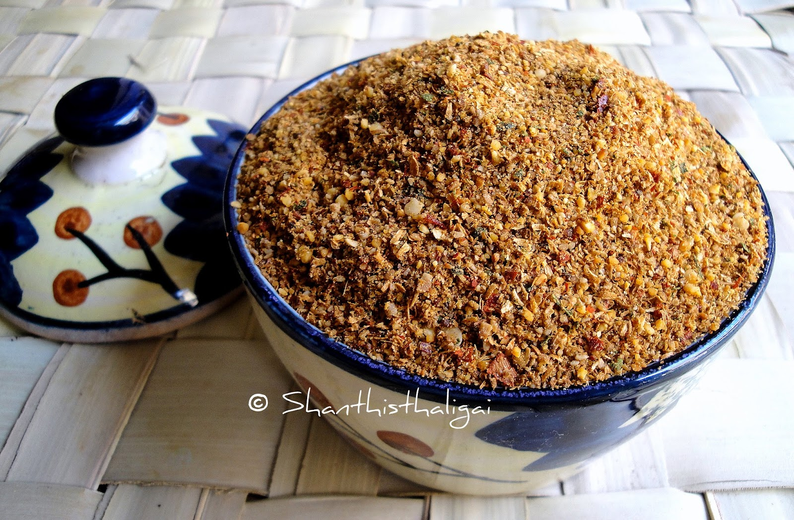 All purpose curry powder, Karaiyamudhu podi,How to make Kariyamudhu podi,