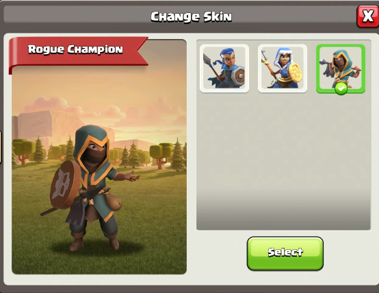 Clash of Clans New Rogue Champion Skin Revealed! Rogue Champion Skin PNG