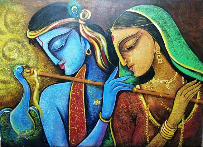 50+ Best Radha Krishna Paintings To Inspire You