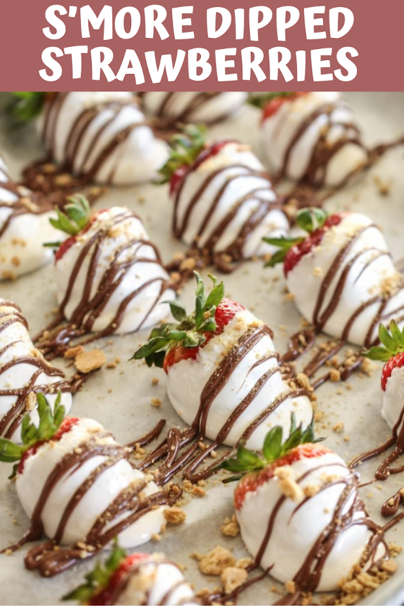 S'MORE DIPPED STRAWBERRIES