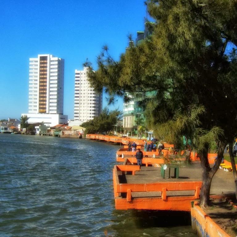 Parcão da Beira-Rio, Junto ao Rio Tramandaí