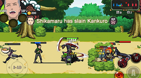 is an exciting action game now available for android smartphone or tablet Naruto Senki MOD APK [Mod Skill] Latest For Android v2.0