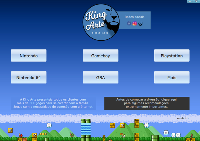Jogos KingArte