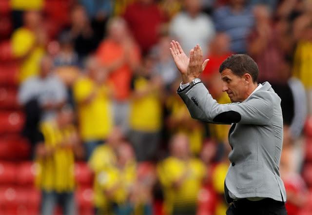 Javi Gracia berharap timnya bisa mendapatkan poin melawan Manchester City