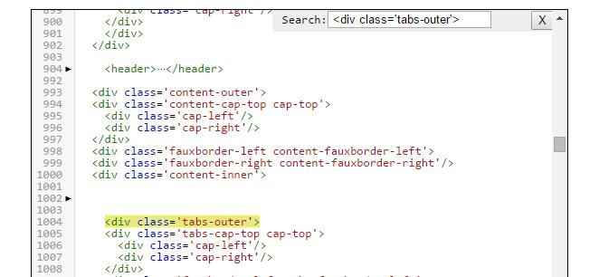 Modifier la largeur de l'en-tête et du menu à 100% de la page