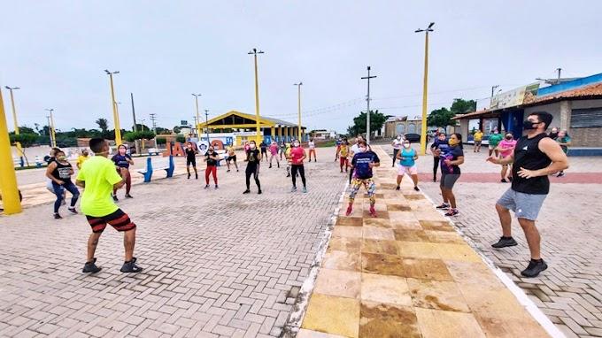 'Geração Saúde' inicia atividades na praça do Complexo de Lazer e Cultura em Cocal