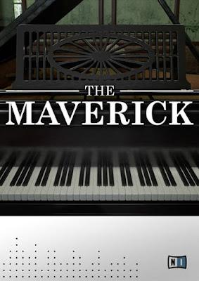 Cover da Library Native Instruments - The Maverick (KONTAKT)