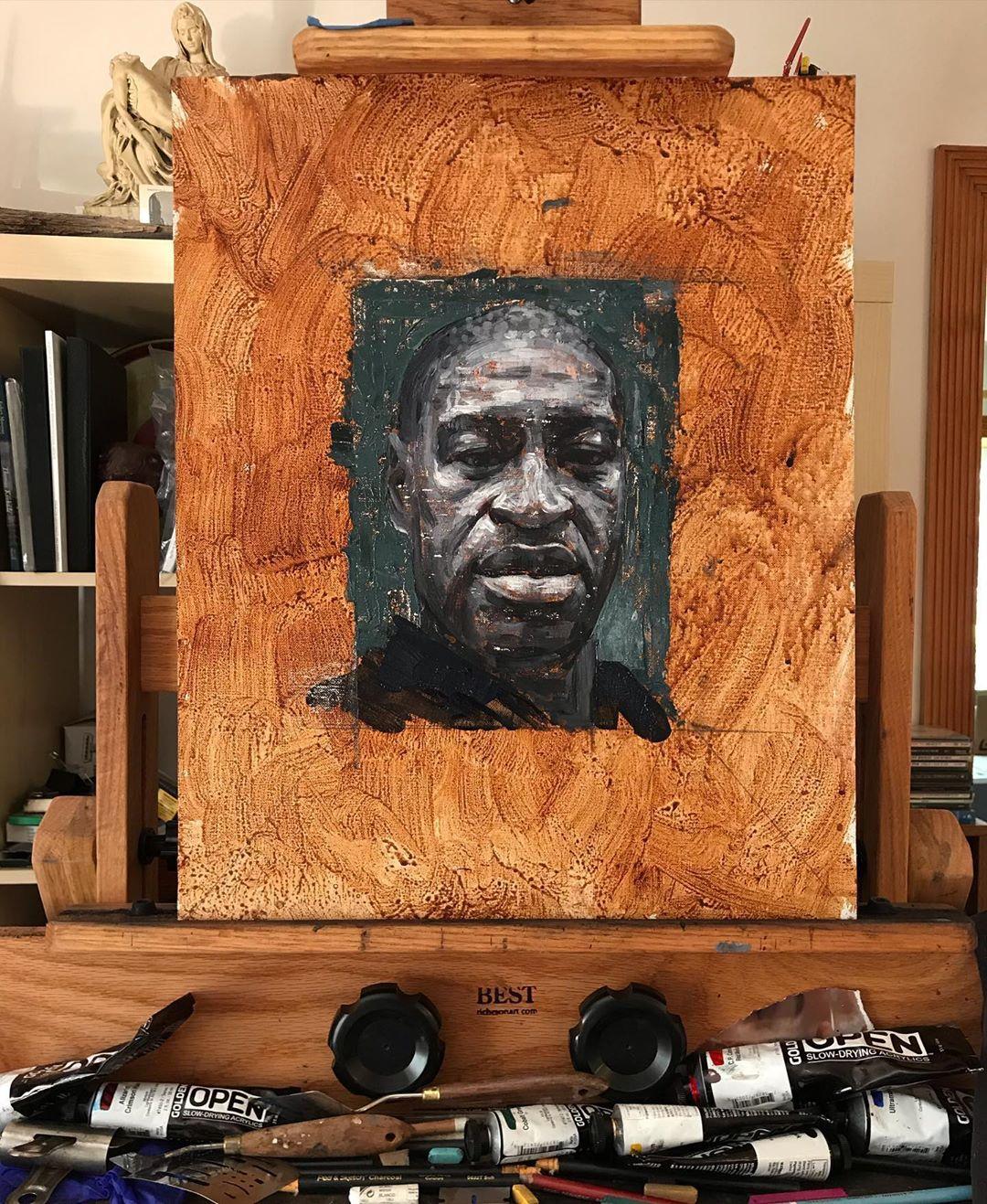 African-American Man DP