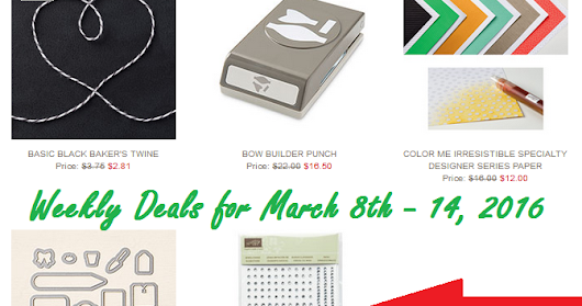 Check out these Weekly Deal projects ...