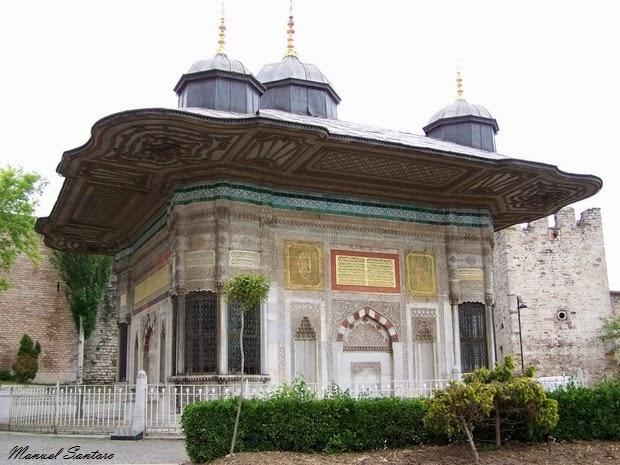 Istanbul, fontana di Ahmed III