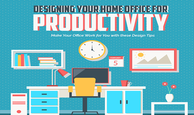 Designing Your Home Office for Productivity #infographic