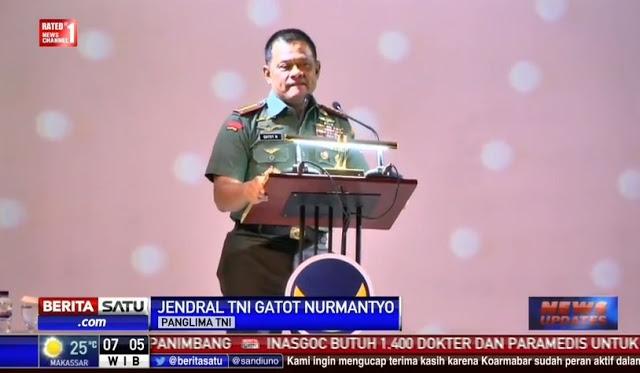 """KONTROVERSI"" Pidato Panglima TNI di Nasdem?"