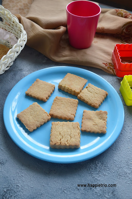 Whole Wheat Butter Cookies