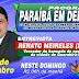 Vereador guarabirense Renato Meireles (PSB) será o entrevistado do PARAÍBA EM DEBATE do próximo domingo (06)