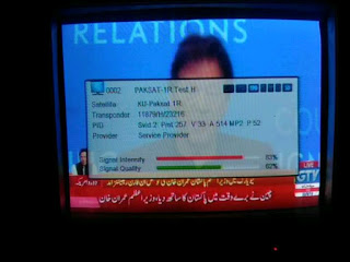 new tv on paksat 1r