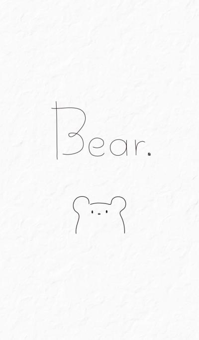 Simple Bear.