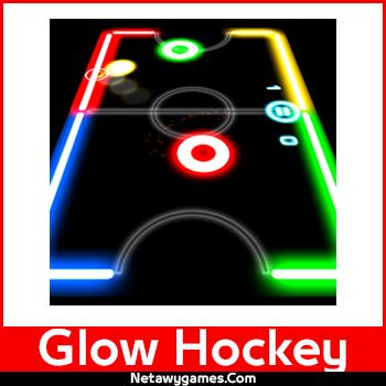تحميل لعبة هوكى الطاولة Glow Hockey للاندرويد والايفون